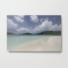 Cinnamon Bay Metal Print