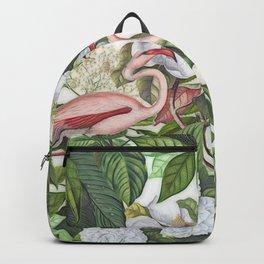 HAA-0267 In The Flamingo Garden Backpack