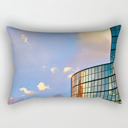 Minimalist Skyline Rectangular Pillow
