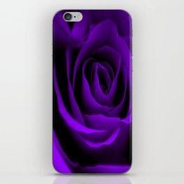 A Purple Rose iPhone Skin
