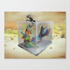 Static Flow Canvas Print