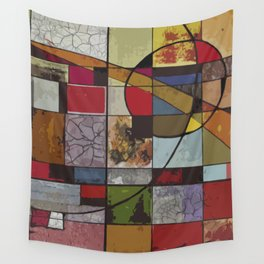 Circle of Colors Wall Tapestry