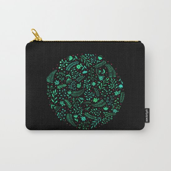 Night autumn pattern 2 Carry-All Pouch