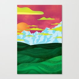 Back home Canvas Print