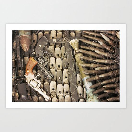 Let's make Peace Art Print