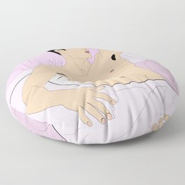 Thinkin' Bout Boys (Color) Floor Pillow
