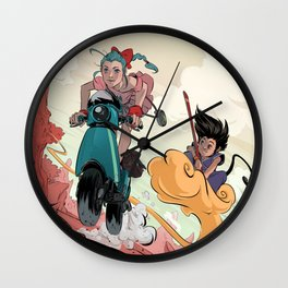 Search for the Dragon Wall Clock