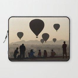 Hot-air Balloons over Bagan, Myanmar Laptop Sleeve