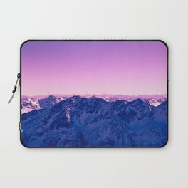 Pink Mountains #society6 #photography Laptop Sleeve