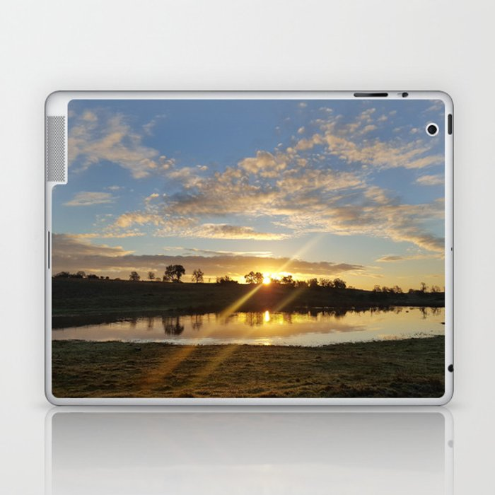 Inbetween Country and Paradise Laptop & iPad Skin