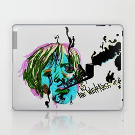 Rimbaud-Morality is the weakness of the mind-  Laptop & iPad Skin