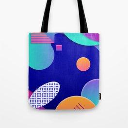 Geometric galaxy Tote Bag