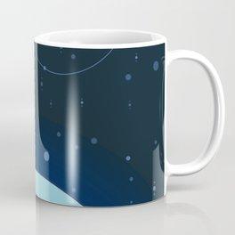 Moon and Planet Coffee Mug