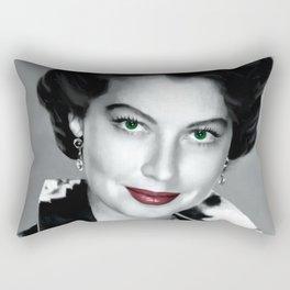 Ava Gardner Portrait #1 Rectangular Pillow