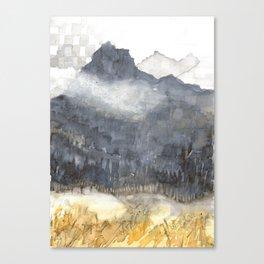 Fairmont Mountain2 Canvas Print