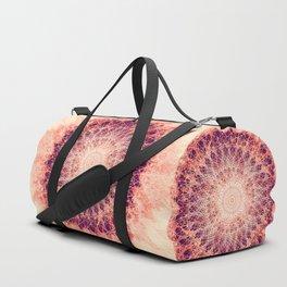 Apricot Mandala Duffle Bag