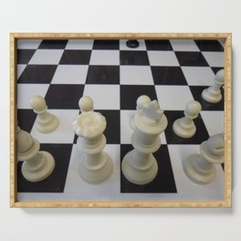 Chess Serving Tray