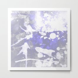 MUSIC TO MY EARS Metal Print