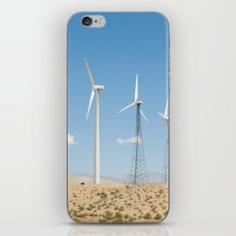 San Gorgonio Pass wind turbine iPhone Skin