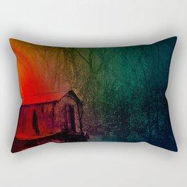 Under a Watchful Eye Rectangular Pillow
