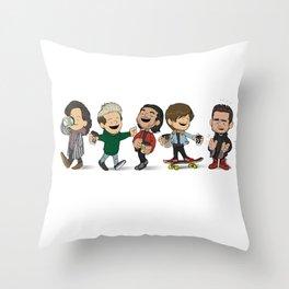 Schulz 1D Coffee Run Throw Pillow