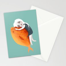 The Fish Girl Stationery Cards