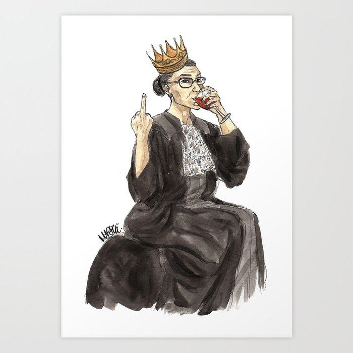 Queen RBG Kunstdrucke