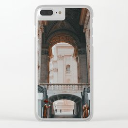 Standing Guard Clear iPhone Case