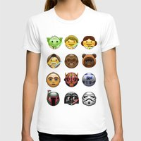 emoji T-shirts featuring Emoji Wars by Vincent Trinidad