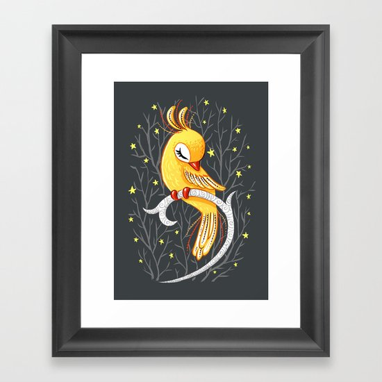 Magic Canary Framed Art Print