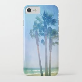 Summer. Palms iPhone Case