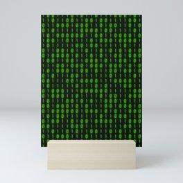 Binary Code Inside Mini Art Print