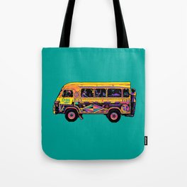 Dakar Car Rapide Tote Bag