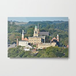 Winneshiek County Courthouse Metal Print