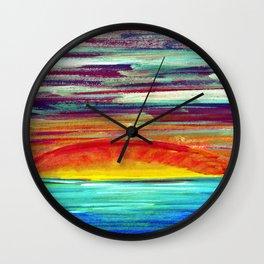 Set the Sun on Fire II Wall Clock