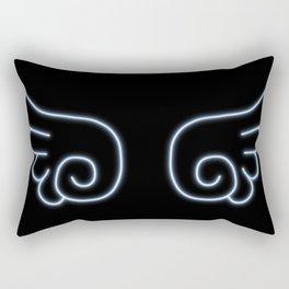 Chibi Angel Wings Rectangular Pillow