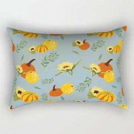 Pumpkins harvest pattern Rectangular Pillow