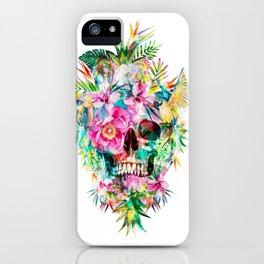 Tropical Skull iPhone Case