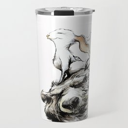 Feel the wind in your ears Travel Mug