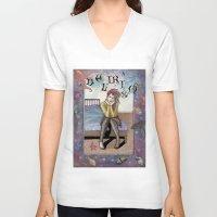 sandman V-neck T-shirts featuring Delirium  by Cats. Comics. Curves.