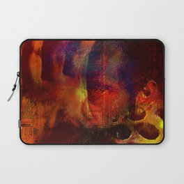 beyond the lines   (This Artwork is a collaboration with the talented artist Agostino Lo coco) Laptop Sleeve