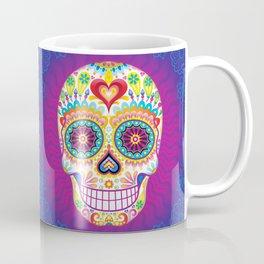 Sugar Skull Art (Luminesce) Coffee Mug