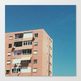 High-Rise Flats In Spain Canvas Print