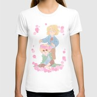 hetalia T-shirts featuring Flower Crown by kitkatkatee