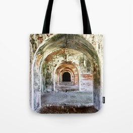 Arches of Fort Morgan Tote Bag