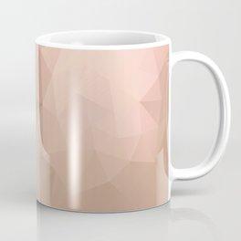 """Strawberry chocolate milkshake"" triangles design Coffee Mug"