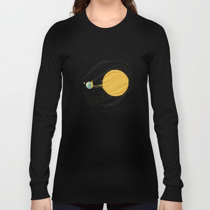 Death by Solar Flare Long Sleeve T-shirt