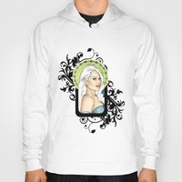 mother of dragons Hoodies featuring Mother of Dragons by CatAstrophe
