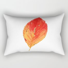 Birch Leaf Rectangular Pillow