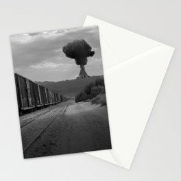 Nuke Train Stationery Cards